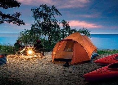 Camp + Hike