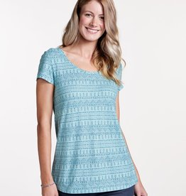 Toad & Co Toad & Co Tissue Crossback SS Tee (W)