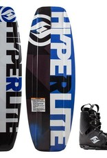 HO Sports Hyperlite 134 Motive Wakeboard w/Frequency OSFA Boot 2018