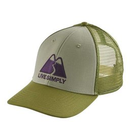 Patagonia Patagonia Live Simply Winding LoPro Trucker Hat