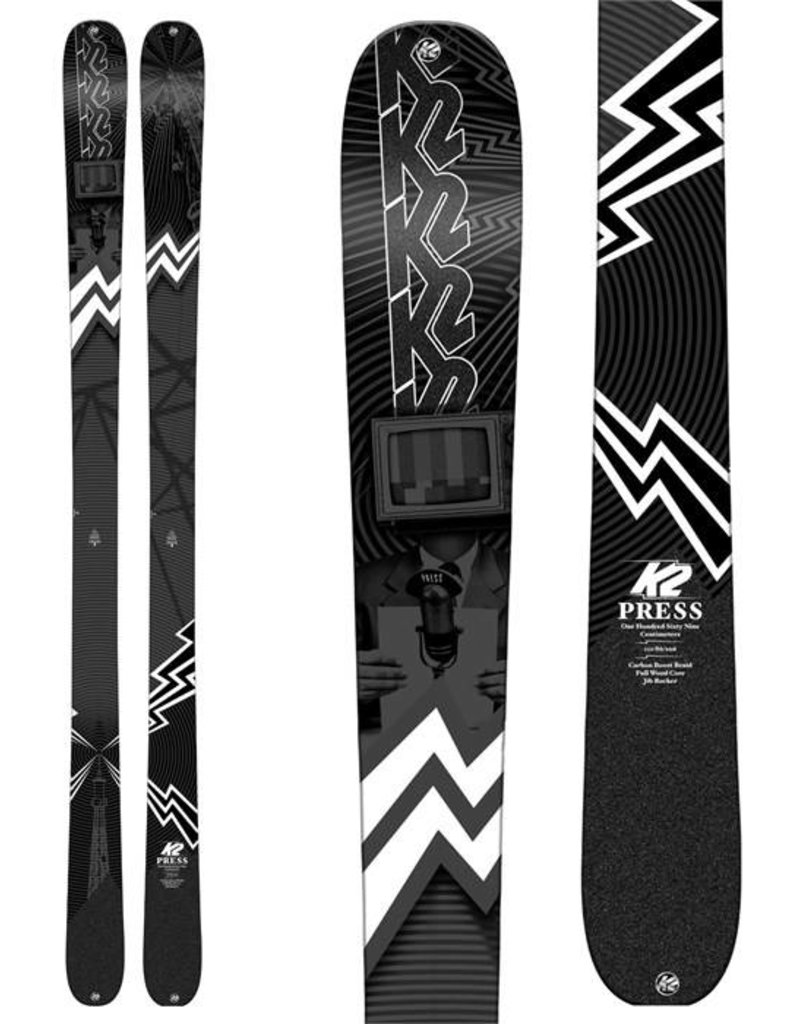 K2 Corp K2 Press 86 Alpine Ski (M) 18/19