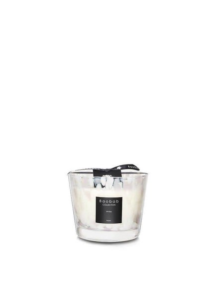 Baobab Candles BAOBAB MAX 10 PEARLS WHITE
