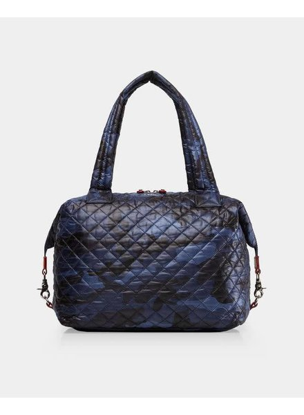 MZ Wallace MZ SUTTON LARGE DARK BLUE CAMO