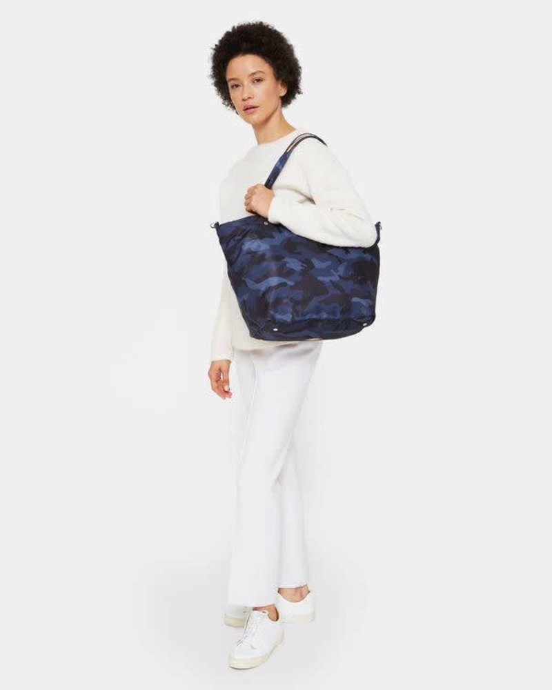 MZ Wallace MZ SOHO TOTE MEDIUM DARK BLUE CAMO
