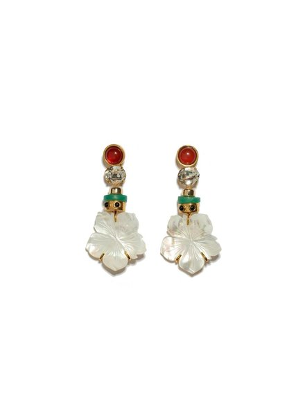 Lizzie Fortunato Jewels LFJ MARGHERITA EARRINGS