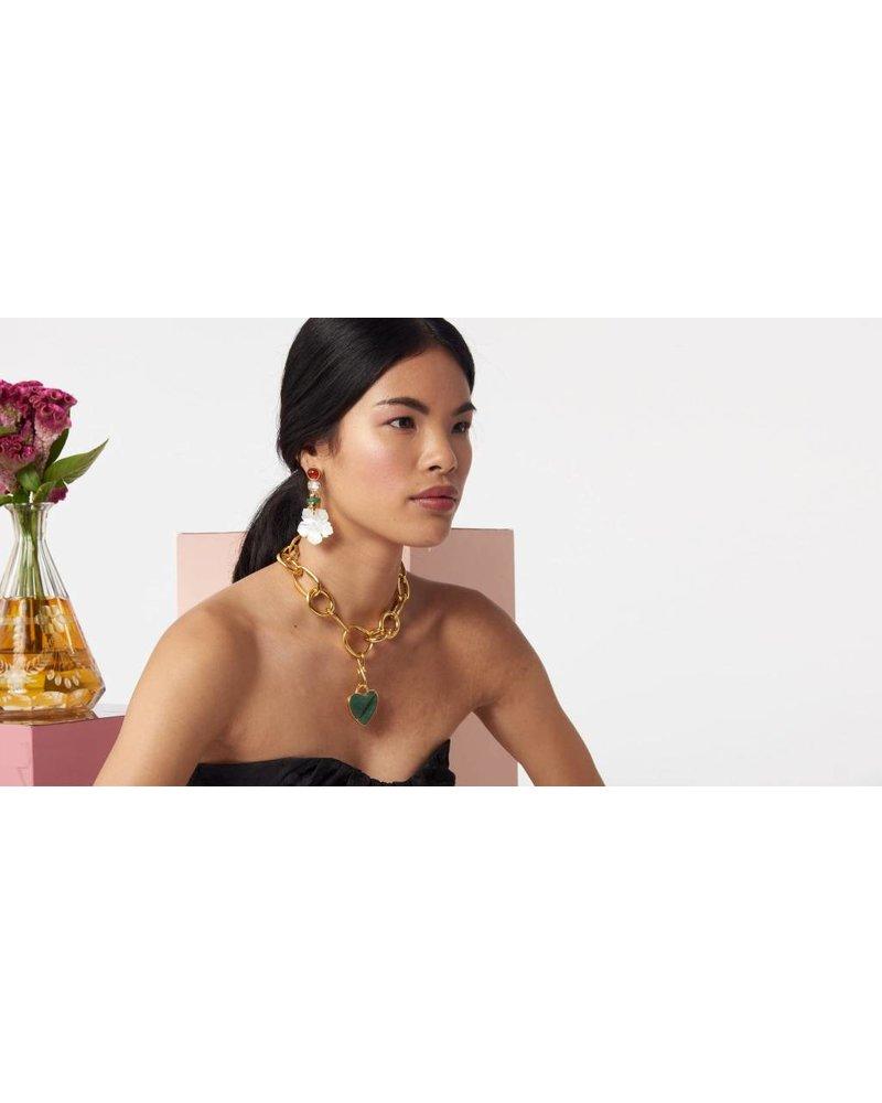 Lizzie Fortunato Jewels LFJ MARGHERITA EARRINGS
