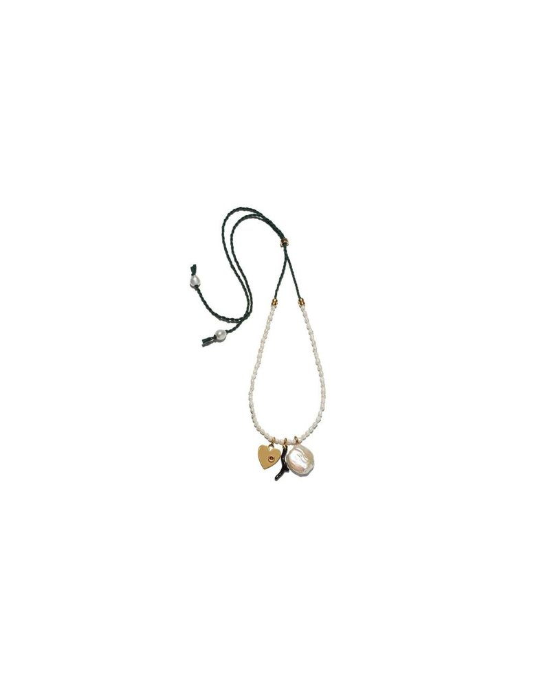 Lizzie Fortunato Jewels LFJ UPTOWN CHARM NECKLACE