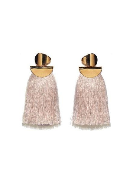 Lizzie Fortunato Jewels LFJ CRATER EARRING BLUSH