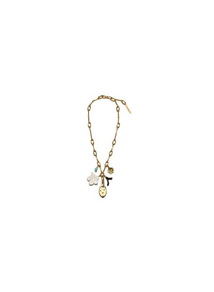 Lizzie Fortunato Jewels LFJ FIAMMA NECKLACE