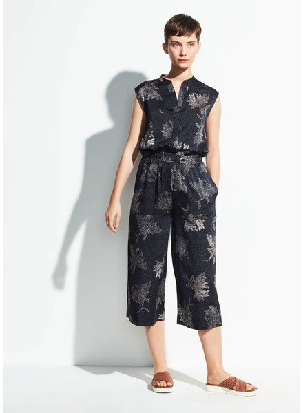 Vince Clothing VINCE WOODBLOCK SLVLS JUMPSUIT