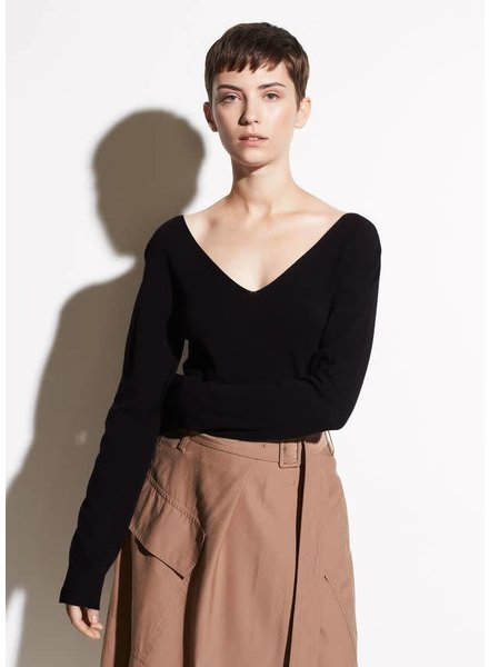Vince Clothing VINCE DOUBLE VEE PULLOVER