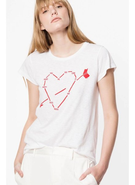 Zadig & Voltaire ZV SKINNY HEART CONSTELLATION