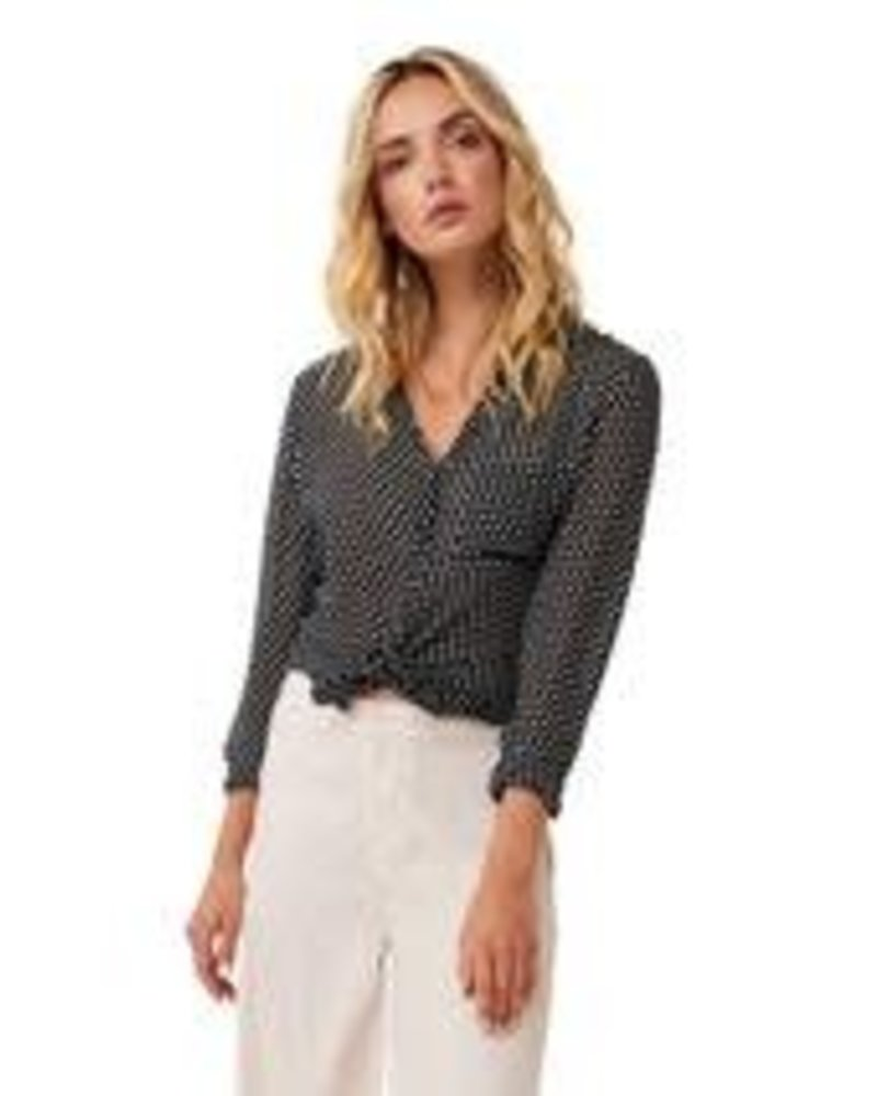 AS by DF ASDF POLKA DOT BLOUSE