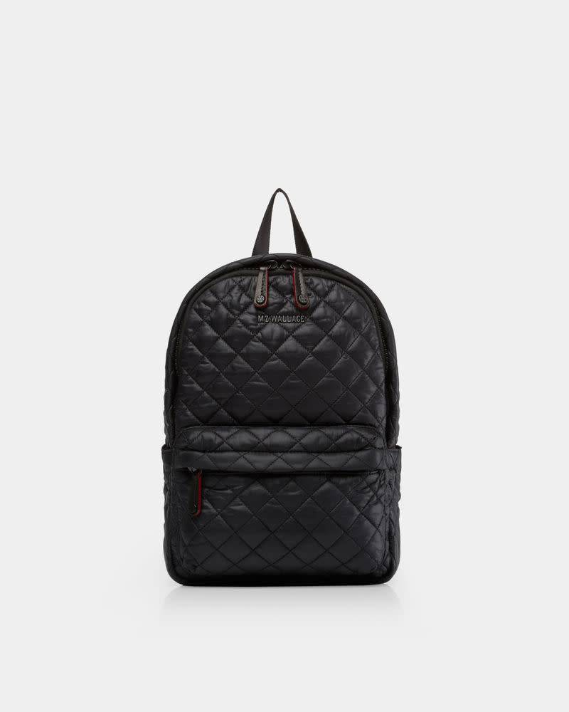 dcc9430522f7 MZ Wallace MZ SMALL METRO BACKPACK 225 BLACK - Peter Kate