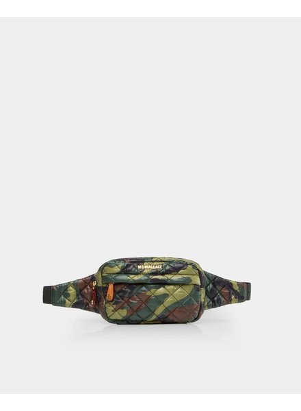 MZ Wallace MZ METRO BELT BAG GREEN CAMO