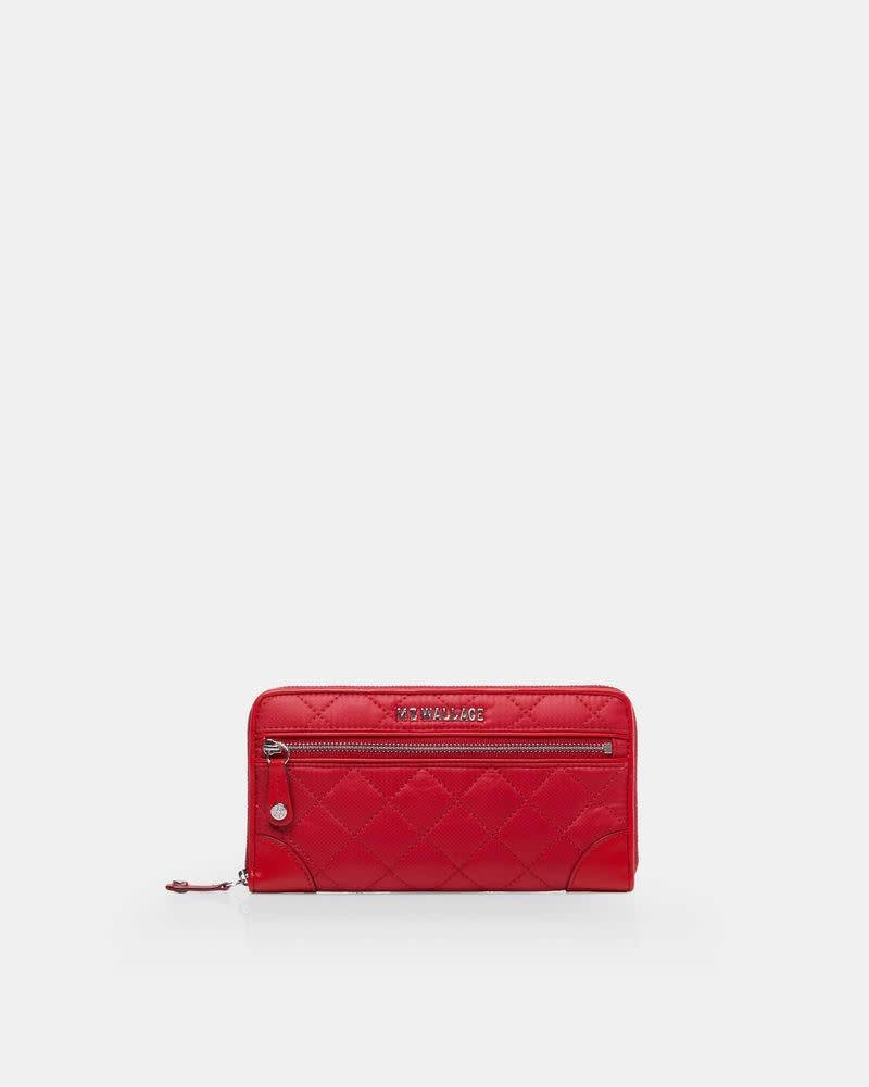 MZ Wallace MZ CROSBY LONG WALLET APPLE