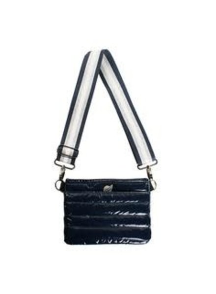 Think Royln TR BUM BAG NAVY PATENT