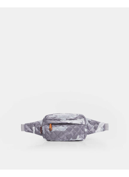 MZ Wallace MZ METRO BELT BAG S LT. GREY CAMO
