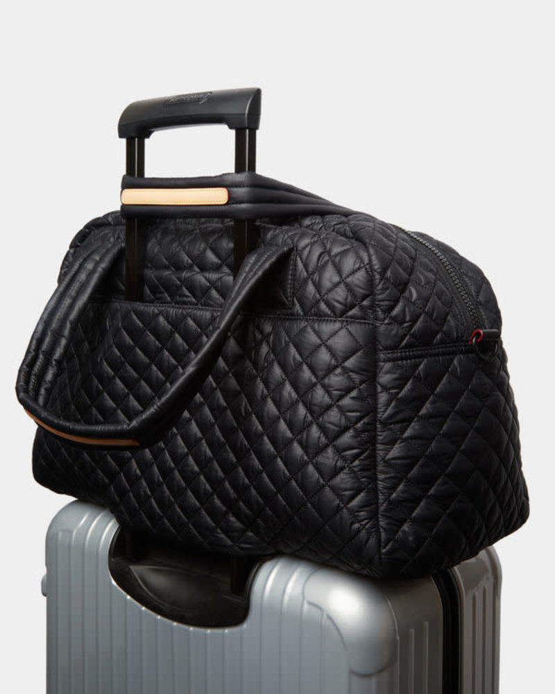 MZ Wallace MZ TRAVEL JIM BAG BLACK OS