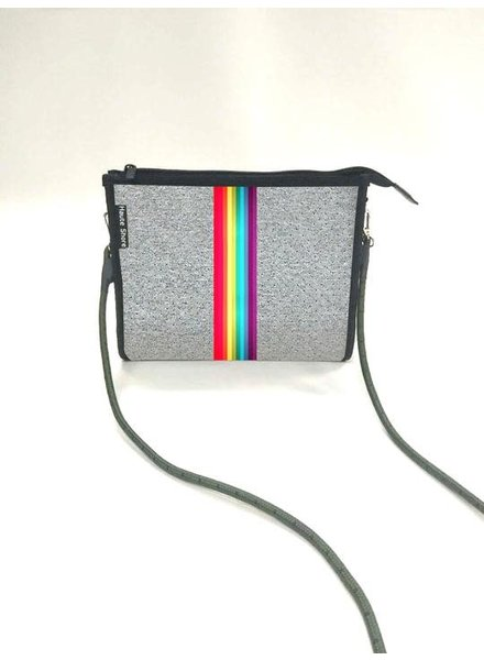 HAUTE SHORE HAUTE MARK SMILE LT. GREY/ RAINBOW