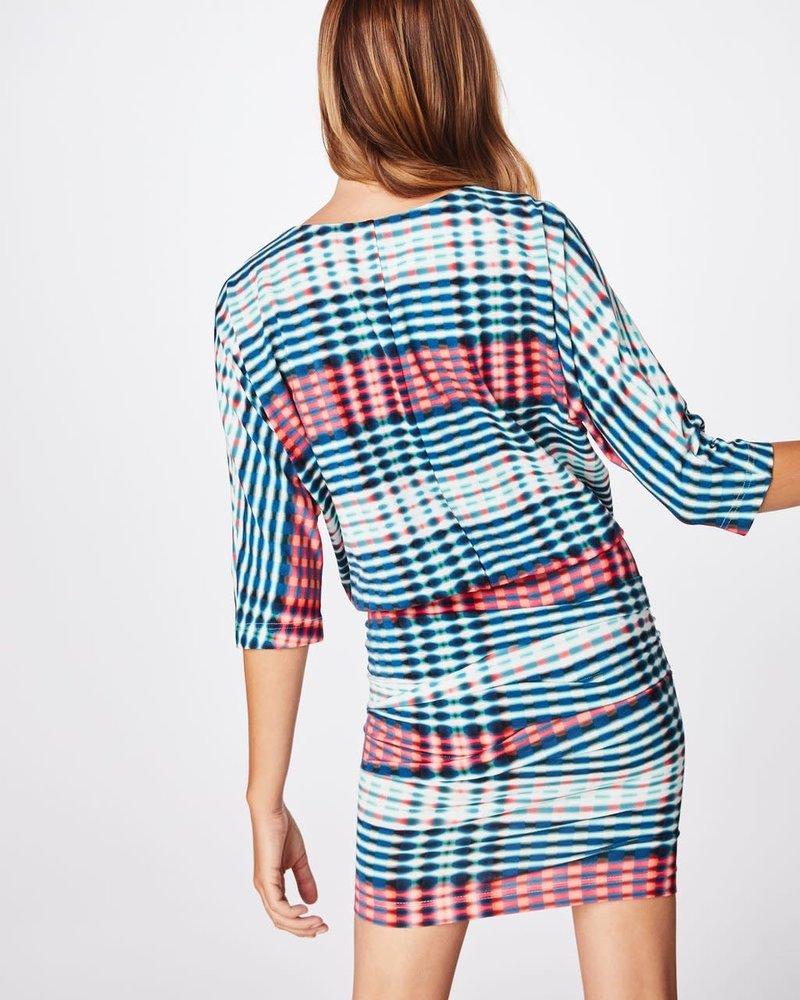 Nicole Miller NM BLOUSON DRESS