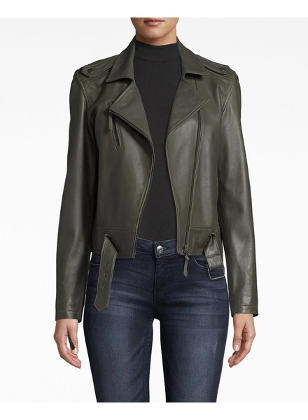 Nicole Miller NM LEATHER MOTO