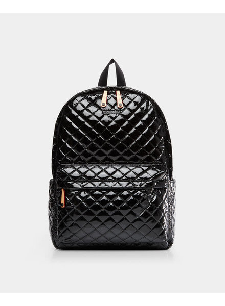 MZ Wallace MZ METRO BACKPACK BLACK LACQUER