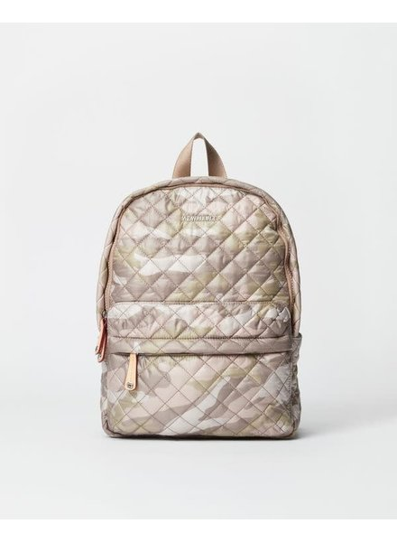 MZ Wallace MZ CITY METRO BACKPACK XS BLUSH CAMO