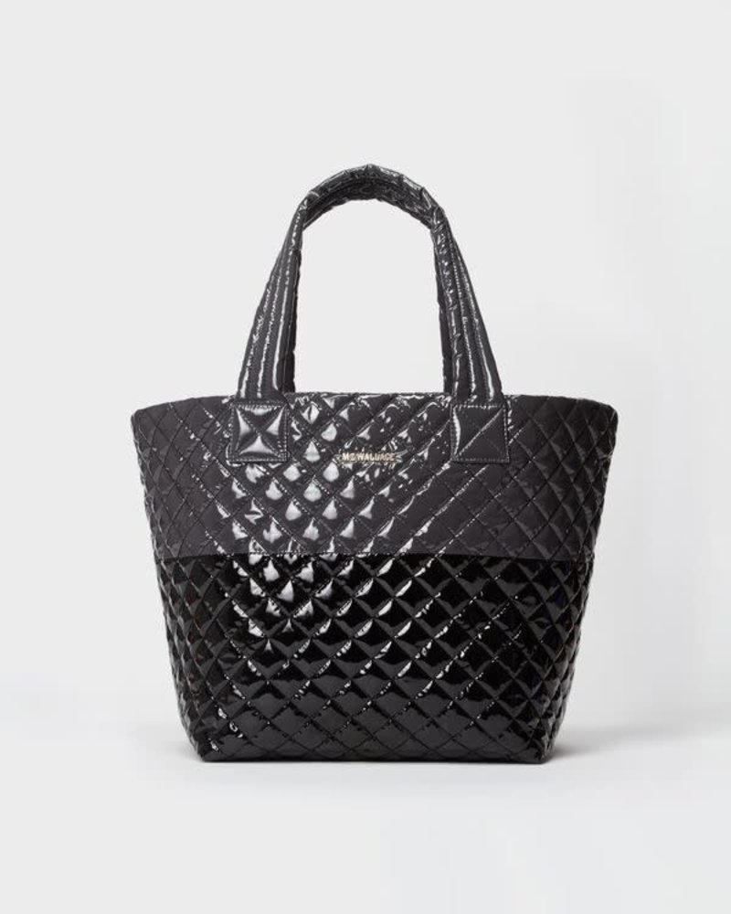 MZ Wallace MZ METRO TOTE MED MAGNET/ BL LACQ