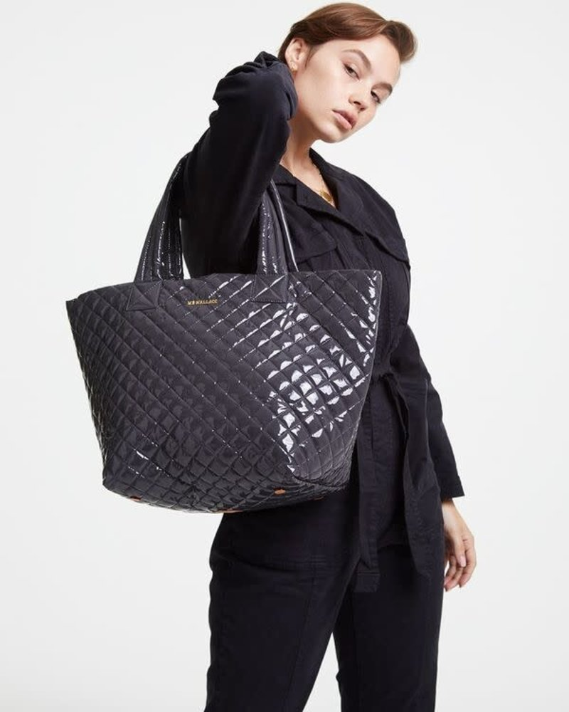 MZ Wallace MZ METRO TOTE MED MAGNET LACQ