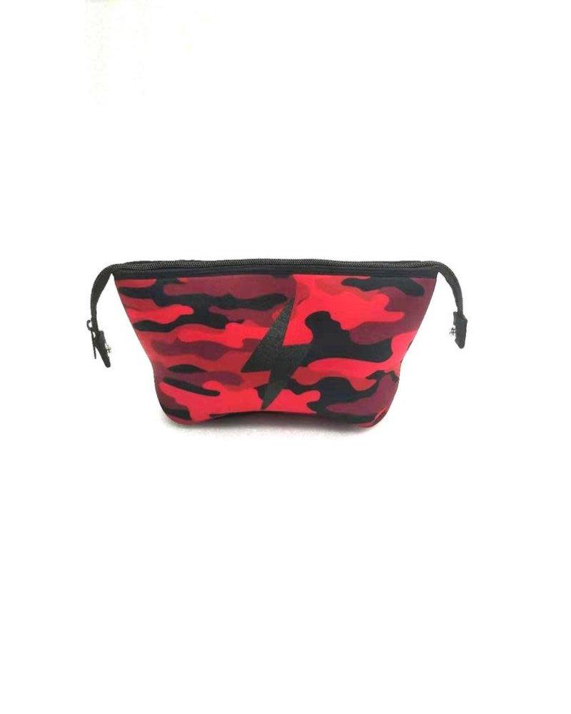 HAUTE SHORE HAUTE ERIN RED CAMO/ BLACK BOLT