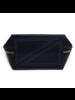 KUSSHI KUSSHI SIGNATURE MAKE UP BAG BLACK/TEAL