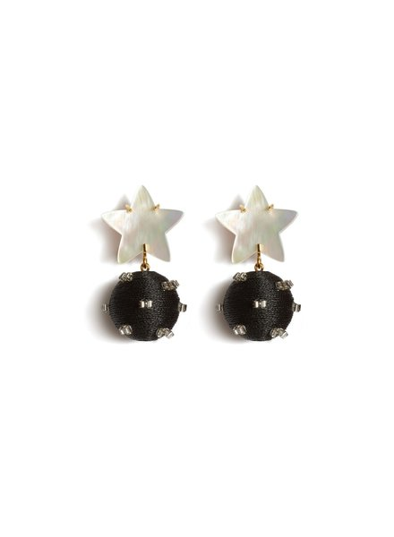 Lizzie Fortunato Jewels LFJ STARBURST EARRINGS