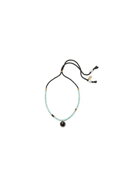 Lizzie Fortunato Jewels LFJ ORBIT NECKLACE