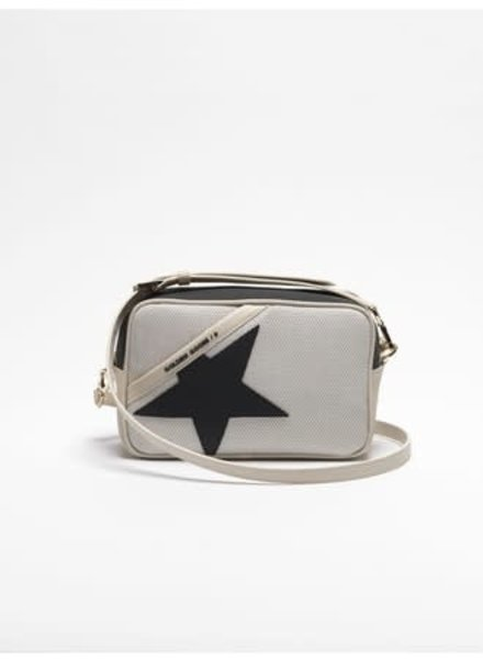 GOLDEN GOOSE GG STAR BAG GREY W/ BLACK