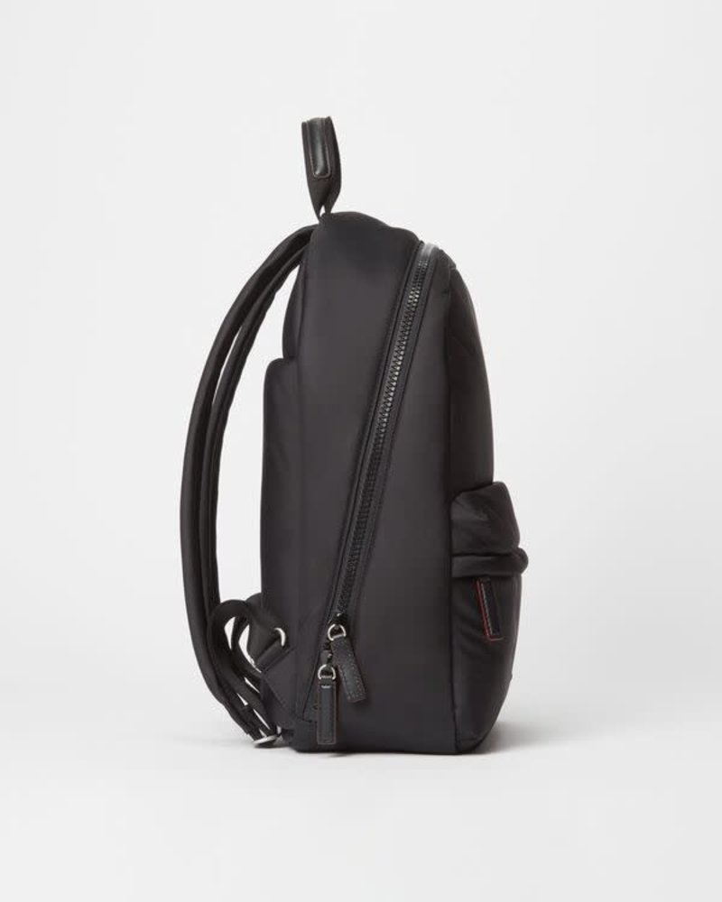MZ Wallace MZ BLEECKER BACKPACK MED BLACK AIR