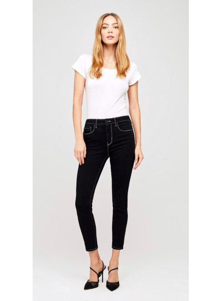 L'Agence MARGOT H/R SKINNY MIX STITCH