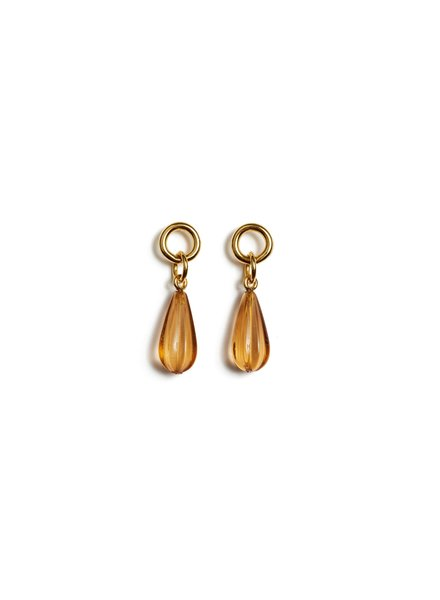 Lizzie Fortunato Jewels LFJ DESERT TEARDROP EARRINGS