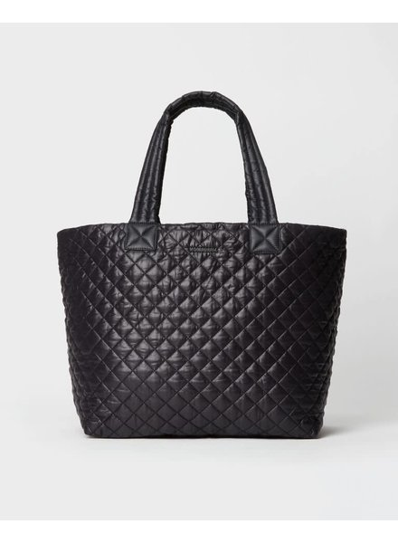 MZ Wallace METRO TOTE DELUXE LARGE BLACK REC