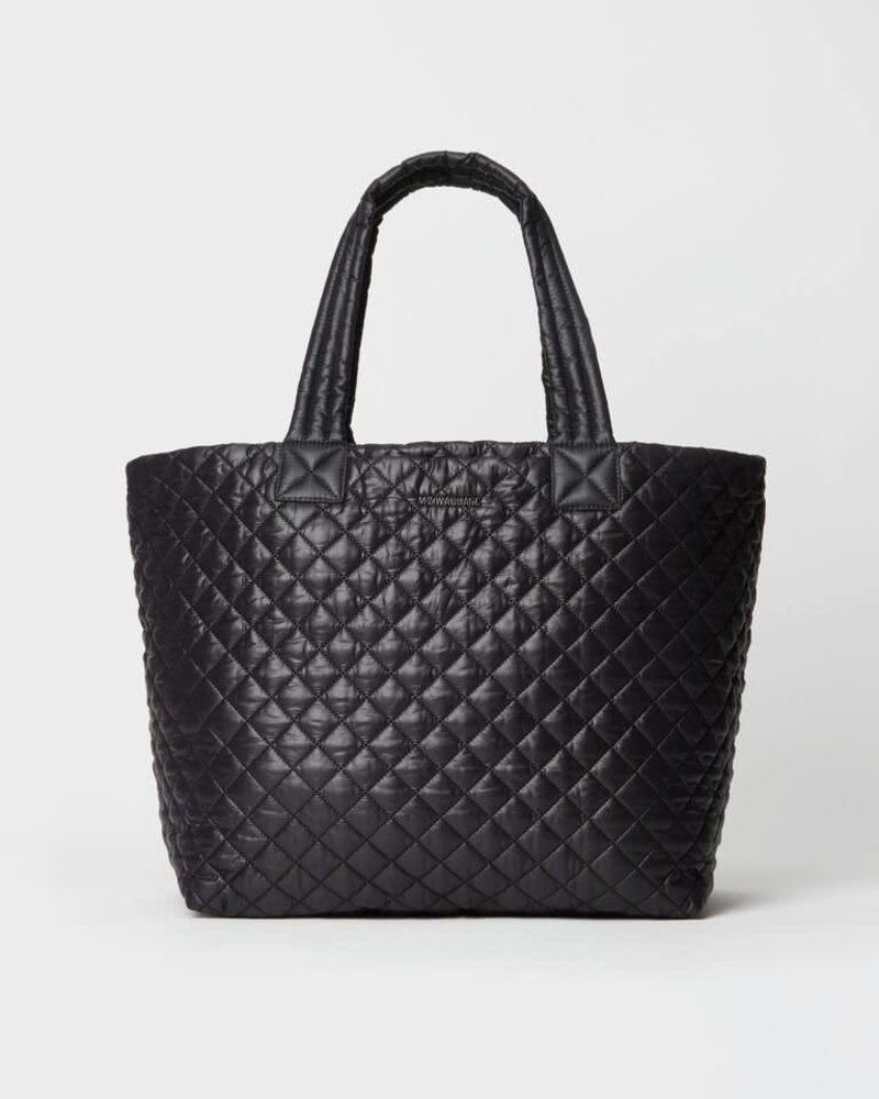 MZ Wallace MZ WALLACE METRO TOTE DELUXE LARGE BLACK REC