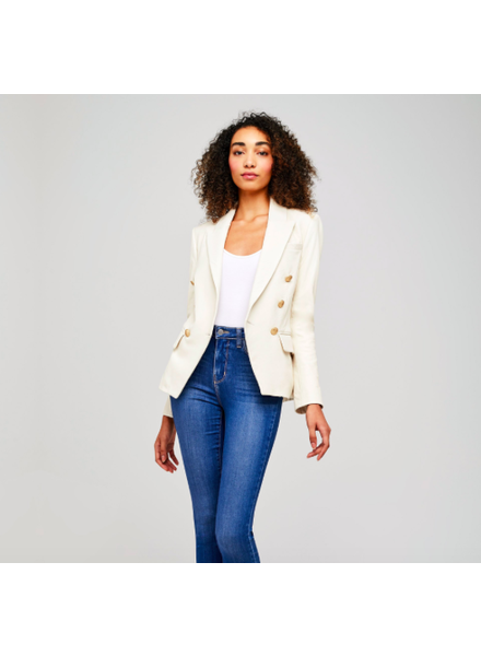 L'Agence L'AGENCE KENZIE DBL BR LEATHER