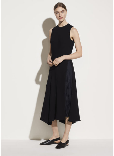 Vince Clothing MIXED PANEL DRESS