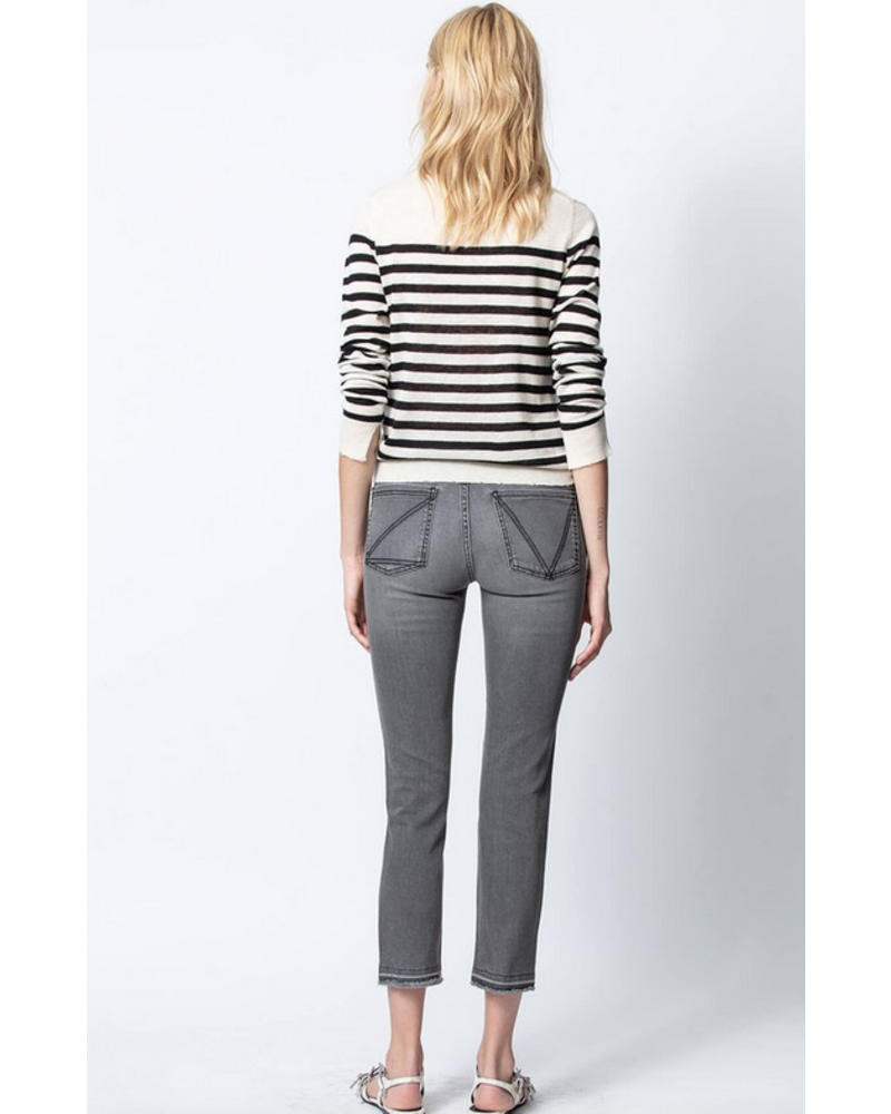 Zadig & Voltaire ZV SOURCE STRIPES PUNK