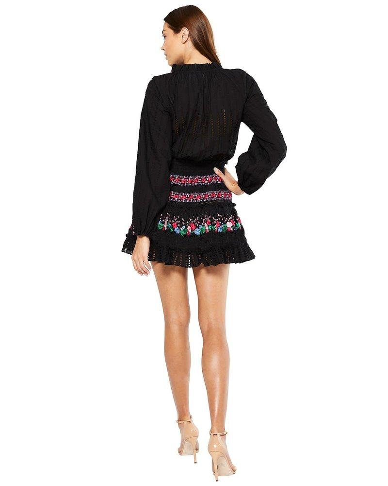 Misa MISA MANUELA DRESS BLACK SIZE XS
