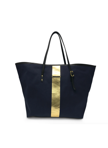 Kempton NAVY/ GOLD URBAN BEACH TOTE