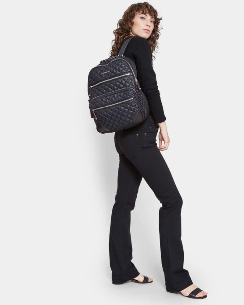MZ Wallace MZ WALLACE CROSBY BACKPACK M BLACK