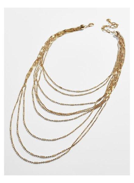 BAUBLEBAR BB ALIZANDRA LAYERED NECK GOLD