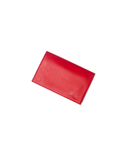 KUSSHI KUSSHI CLUTCH COVER RED LEATHER