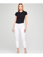 L'Agence MARGOT HIGH RISE SKINNY BLANC SIZE 29