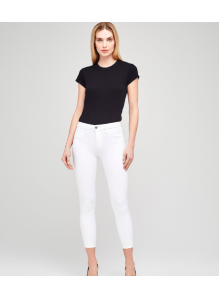 L'Agence L'AGENCE MARGOT HIGH RISE SKINNY BLANC SIZE 29